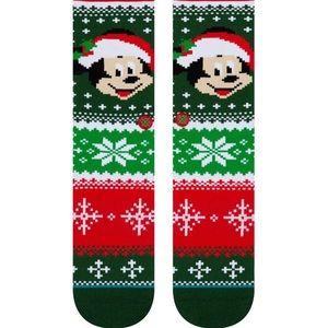Stance Underwear & Socks - Stance Mickey Claus Crew Height Sock